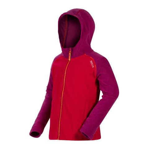 Regatta Red/Purple Upflow Fleece