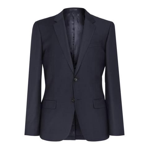 Reiss Navy George Slim Fit Wool Rich Suit Jacket