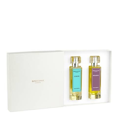 Bahoma Fine Fragrances Eau de Toilette - 2 x 50ml Ocean Spa & Indulgence