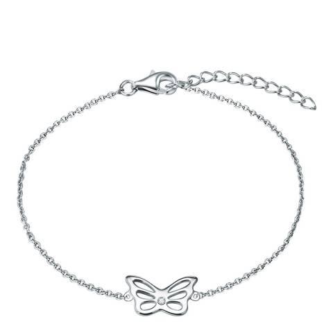 Carat 1934 Silver Butterfly Bracelet