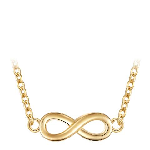 Carat 1934 Gold Twist Infinity Necklace