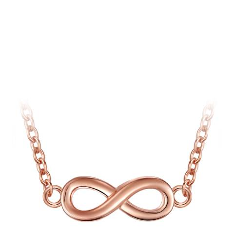 Carat 1934 Rose Gold Infinity Necklace