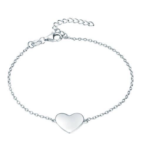 Carat 1934 Silver Heart Bracelet