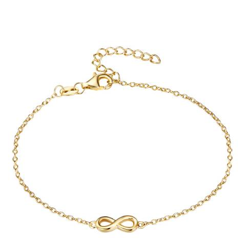 Carat 1934 Gold Infinity Bracelet