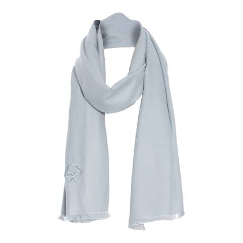 JayLey Collection Blue Silk Blend Scarf