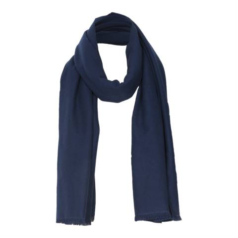 JayLey Collection Navy Cashmere Blend Scarf