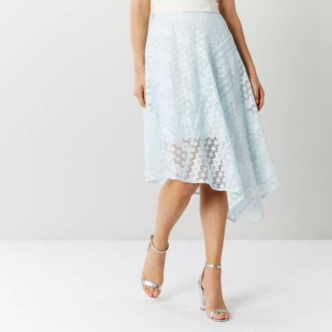 Coast Pale Blue Zoe Lace Skirt