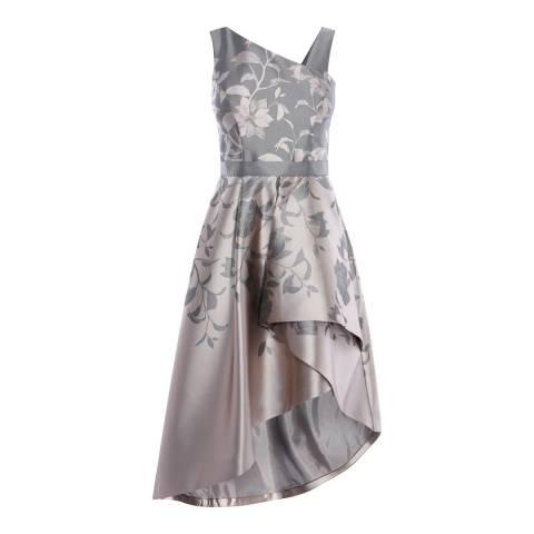 Coast Metallic Multi Darcy Jacquard Dress