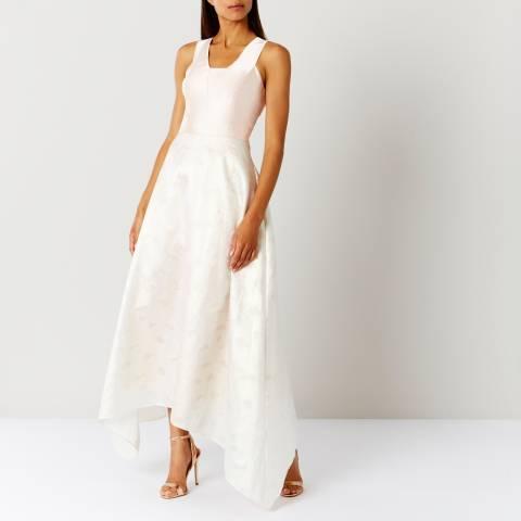 Coast Blush Pearl Metallic Full Dress