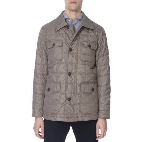 Hackett London Grey George Nylon Jacket