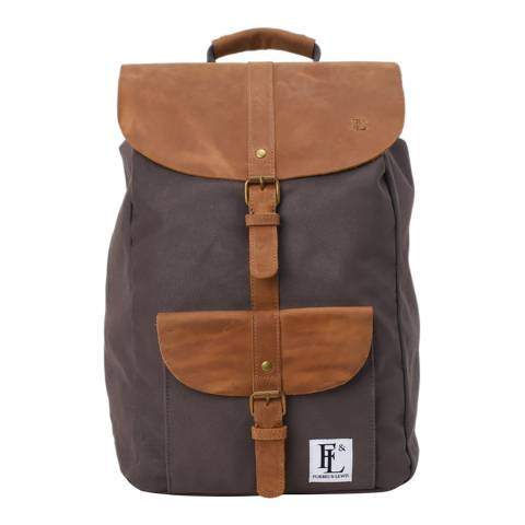 Forbes & Lewis Grey Lincoln Backpack