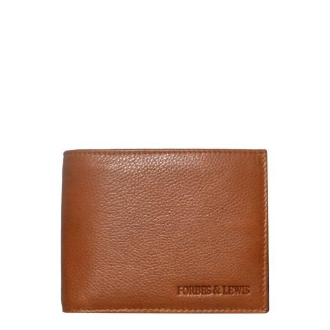 Forbes & Lewis Brown Slimline Bill Wallet