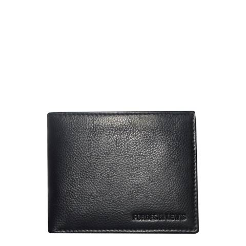 Forbes & Lewis Black Slimline Bill Wallet