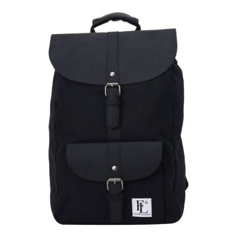 Forbes & Lewis Black Lincoln Backpack