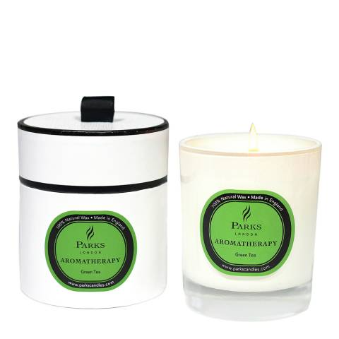 Parks London Green Tea Aromatherapy Single Wick Candle