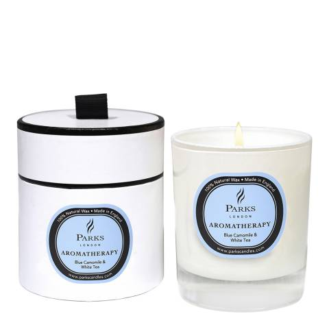 Parks London Blue Chamomile and White Tea Aromatherapy Single Wick Candle