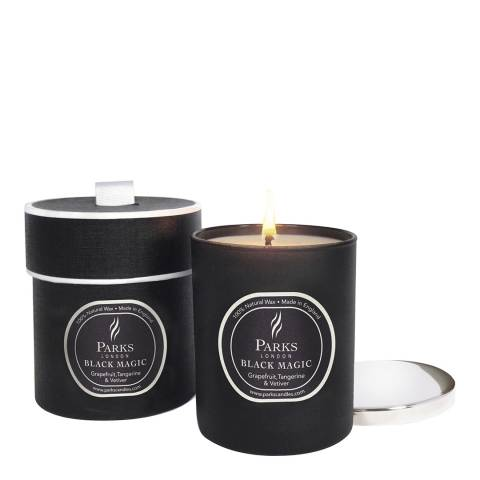 Parks London Grapefruit, Tangerine and Vetiver Black Magic Single Wick Candle