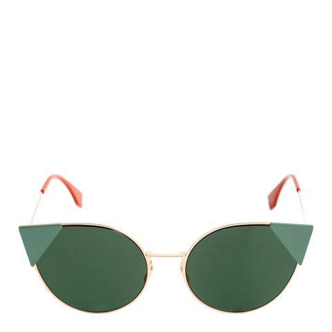 Fendi Women's Gold/Copper Lei Sunglasses 57mm
