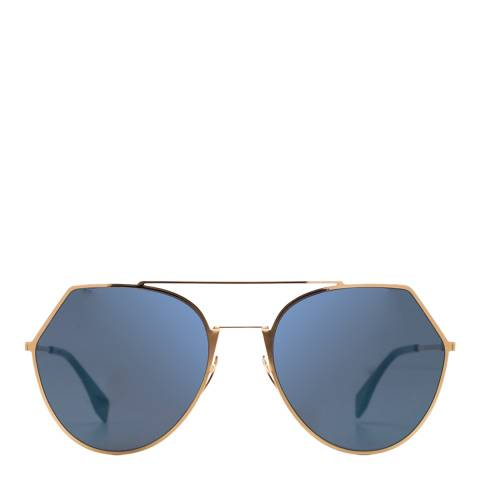 Fendi Women's Rose Gold Eyeshine Sunglasses 55mm