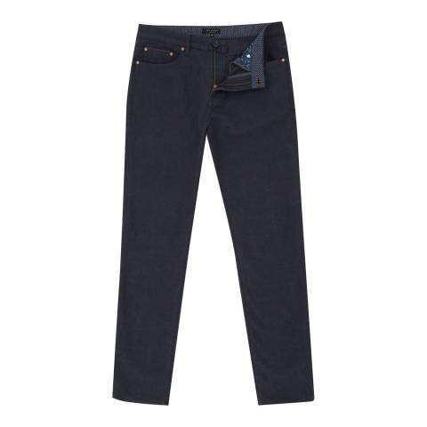 Ted Baker Navy Seton Five Pocket Trousers