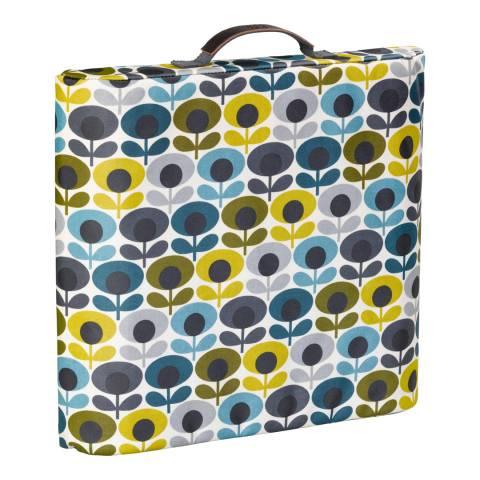 Orla Kiely Multi Coloured Flower Oval Print Kneeler