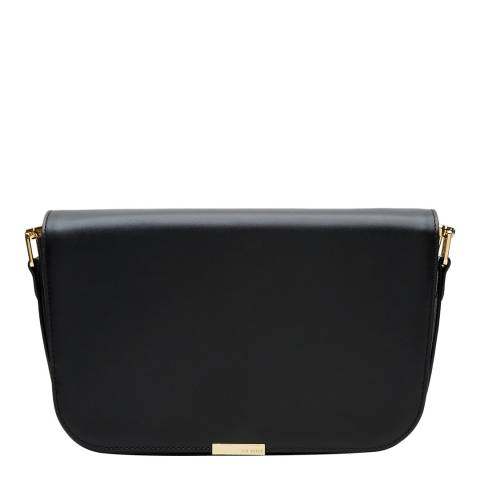 Ted Baker Black Mini Metal Bar Shoulder Bag