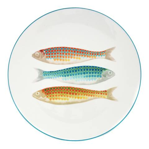Jersey Pottery Harlequin Charger Plate, 30cm