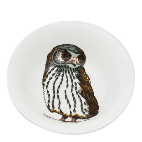 Jersey Pottery Faunus Set of 6 Cereal Bowls, Owl