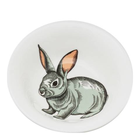 Jersey Pottery Faunus Set of 6 Cereal Bowsl, Rabbit