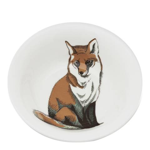 Jersey Pottery Faunus Set of 6 Cereal Bowls, Fox