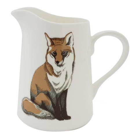 Jersey Pottery Faunus Small Jug, Fox