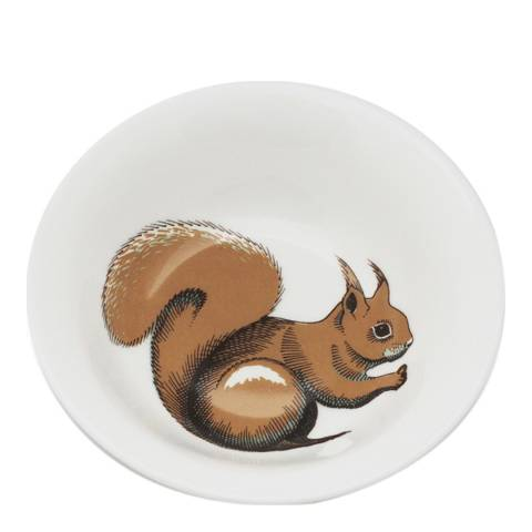Jersey Pottery Faunus Set of 6 Cereal Bowls, Squirrel