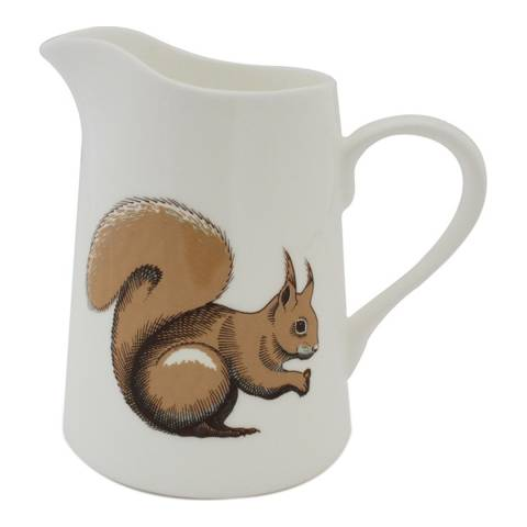 Jersey Pottery Faunus Small Jug, Squirrel