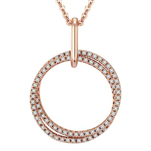 Tassioni Rose Gold Ring Necklace