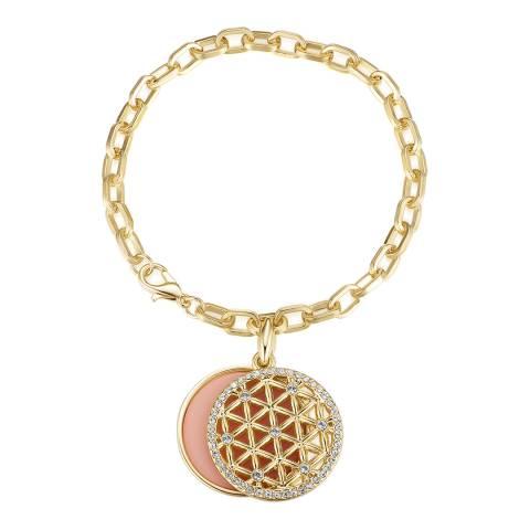 Tassioni Gold/Blue Eye Bracelet