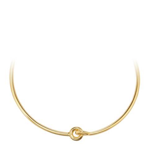 Tassioni Gold Circle Necklace