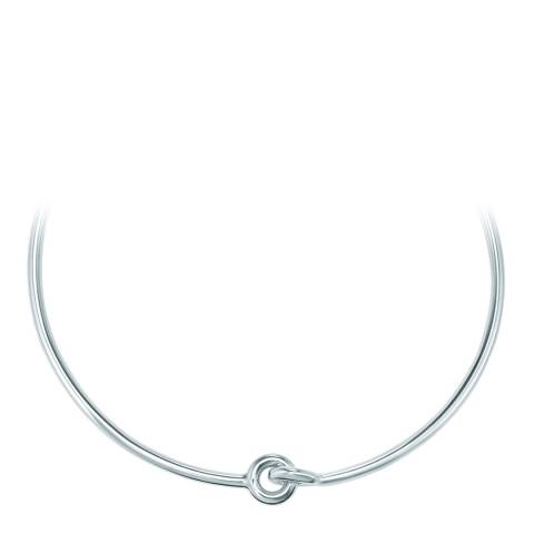 Tassioni Silver Circle Necklace