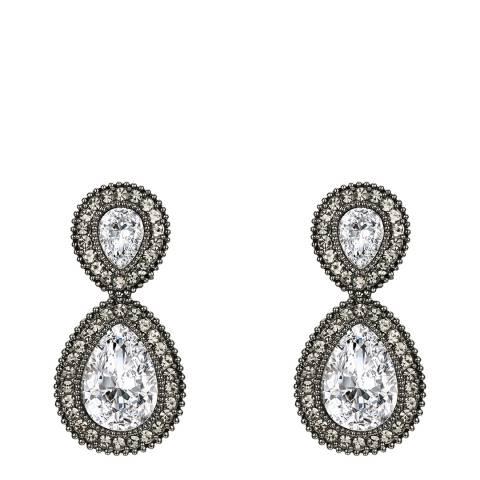 Tassioni Silver Drop Earrings