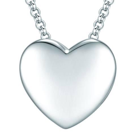 Tassioni Silver Heart Necklace