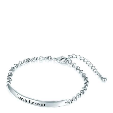 Tassioni Silver Love Forever Bracelet