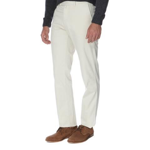 Hackett London Beige Tailored Sanderson Chino Trousers