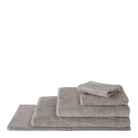 Sheridan Living Textures Hand Towel, Ash