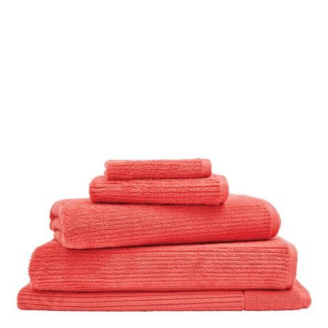 Sheridan Living Textures Bath Towel, Coral