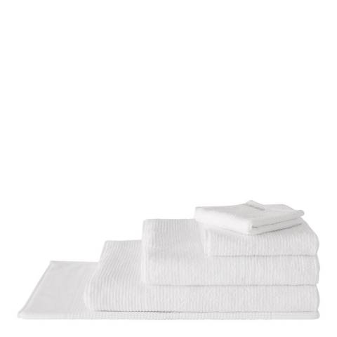 Sheridan Living Textures Bath Towel, White