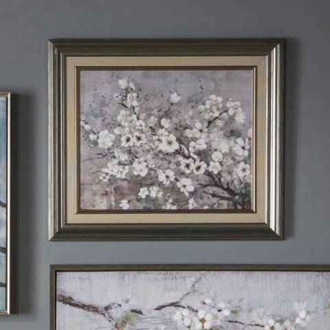 Gallery Blue Sakura Framed Wall Art 56x66cm