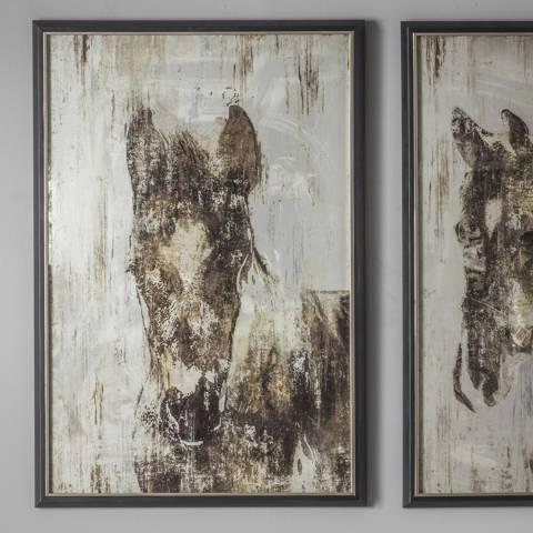 Gallery Equis I Framed Art 64x94cm