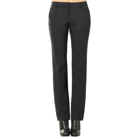 Leon Max Collection OLD STYLE Grey Slim Trousers