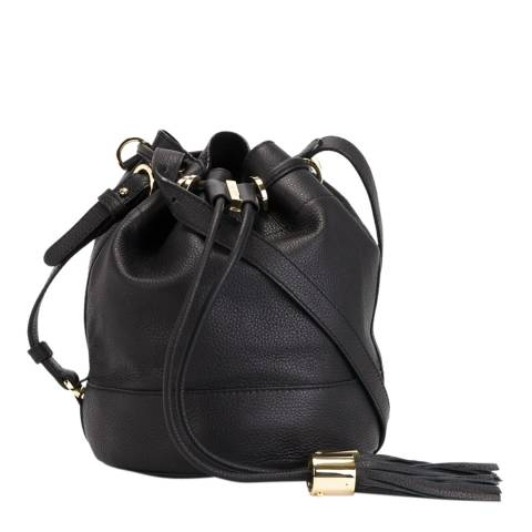 See by Chloe Black Leather Small Vicki Bag
