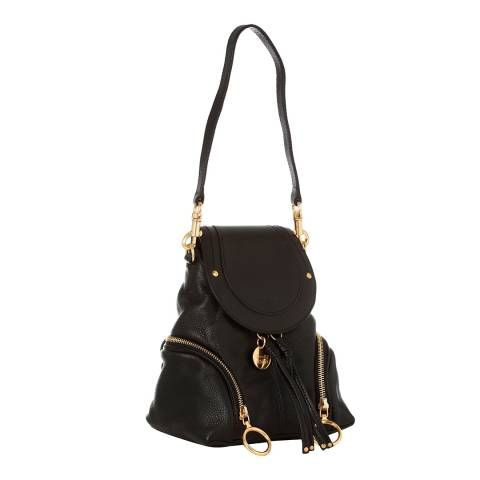 See by Chloe Black Leather Polly Mini Bag