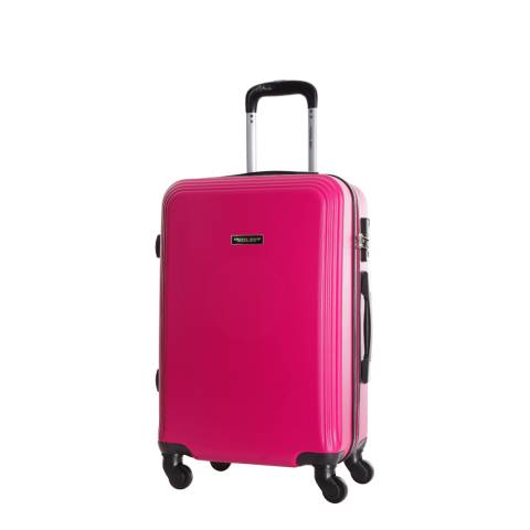 Travel One Fuchsia Alicudi Spinner Cabin Suitcase 45cm